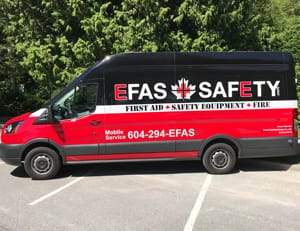 EFAS Fire Protection Service Vehicle